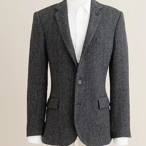 J. Crew Charcoal Wool Sportcoat 36R - Ludlow Fit